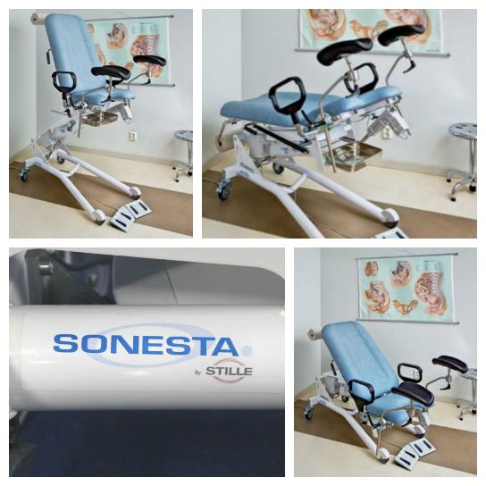 Stille Sonesta Urology/Urodynamics Chair Features